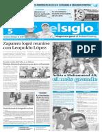 Edicion Impresa El Siglo 05-06-2016
