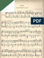 Giroux, Alcide - Saibo (Danse Caractéristique, Schottische) (Lowell, MA EL Turcot, 1916) (a Rag From Quebec, Canada)