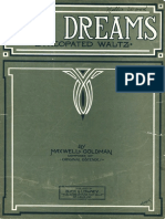 Goldman, Maxwell - Day Dreams (Syncopated Waltz) (St. Louis, MO; Buck and Lowney, 1912)