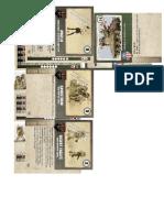Dust Tactics Operation Babylon Cards