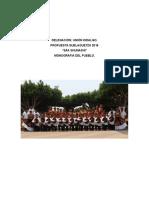 Monografía Unión Hidalgo para la Gueaguetza 2016