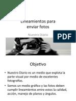 Lineamientos de Fotografia ND