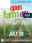 Open Farm Day Passport 2016