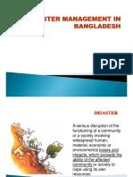 Disaster Management in BD Mushtaq sir