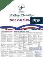 st mary mackillop birdkdale 2016 calendar pr
