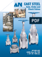 Sub Sec 39 - Velan_Cast Steel Gate, Globe & Check Valves