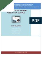 Transmisor de Audio y Video Con Acople