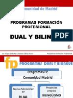 Formación Profesional Dual y Bilingüe.