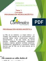 Tema 1 - Concepto Pnl, Antecedentes