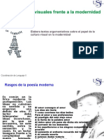SEMANA 9 1 Poesia y Artes Visuales Frente a La Modernidad.pptx