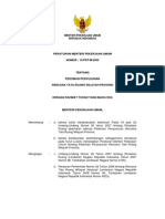 Permen PU 15-2009, Pedoman Penyusunan RTRW Provinsi
