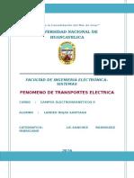 Fenomeno de Transportes Electricas