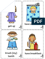 Daily Cards for kids flash