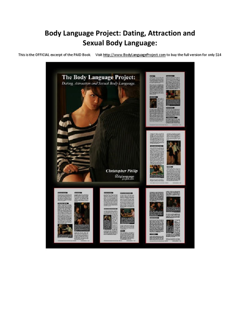 The body language project dating attraction