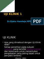 Uji Klinik II