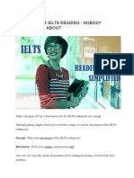7 Tips for Ielts Reading