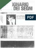 Dizionario Dei Segni - Orazio Romeo