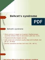 T8 Behcets Disease