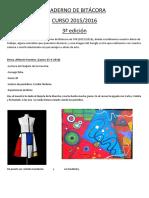 Cuaderno de Bitácora 3ª Edición