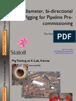 2009 04 Pipeline Pigging
