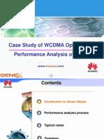 Case Study of WCDMA Optimization Perform