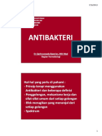 Anti Bakteri.