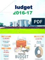 Bangladesh national budget (FY) 2016-17
