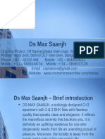 Ds Max Saanjh - Affordable flats in Bannerghatta road
