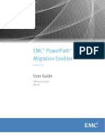 PowerPath Migration Enabler 5.7 User Guide