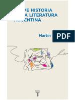 Breve Historia de la literatura argentina (Martín Prieto)
