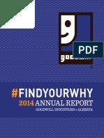 Goodwill Industries of Alberta, Annual Report 2014