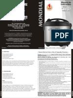 Manual da Panela Elétrica Mondial