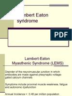 lambert eaton syndrome