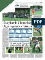La Provincia Di Cremona 05-06-2016 - Calcio Lega Pro - Pag.2
