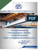 All Metals Industries - New Brochure
