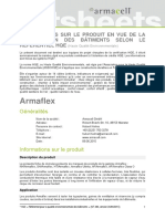 Armacell HQE Fact Sheet 2016-01-28 FR