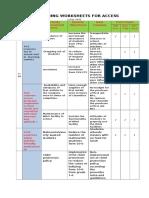 Sample Planning Worksheet E-SIP