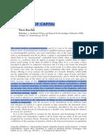 Forms of Capital - Bourdieu