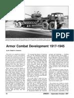 Armor Combat Development 1917-1945 - Robert Cameron