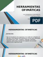 Presentación herramientas ofimáticas
