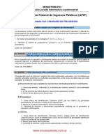05 - Monotributo - Declaracion Jurada Informativa Cuatrimestral - ABC Consultas y Respuestas AFIP