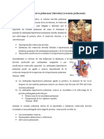 Cardiopatía hipertensiva pulmonar