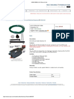 VSB02C000036, MVCI Ethernet Cable
