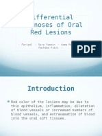 Differential Diagnoses of Red Lesions