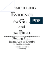 Compelling Evidence for God and the Bible