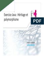 POC - Rappels Java - TD 2 - Héritage Et Polymorphisme