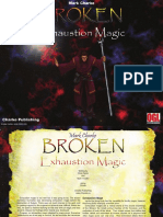 Broken Exhaustion Magic Lan Scape