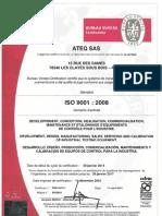 ISO9001 Certificate Uk