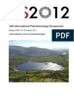 International Paleolimnology Symposium 12th IPS 2012