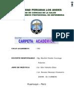 Carpeta Pedagogica 2016 I